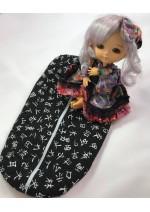 Debbie's Custom Bags Latte Yellow Size Individual Doll Bag