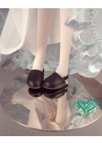 Monique Marigold Clogs Size 23 mm/12 mm White or Black