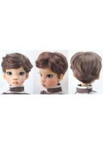 Monique Brian MSD Size 7-8 Chestnut Brown Doll Wig