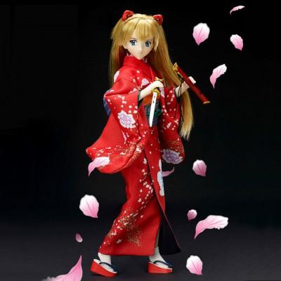 Sword-Wielding Asuka Langley Shikinami Doll
