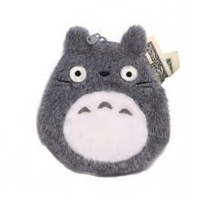 Gray Totoro Coin Purse