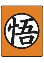 Dragon Ball Z  Goku Symbol Throw Blanket