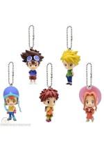 Digimon Adventure 2015 Bandai Gashapon Min-Figure Keychains