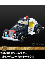 Disney Motors DM-30 Dream Star Patrol Car Mickey Mouse