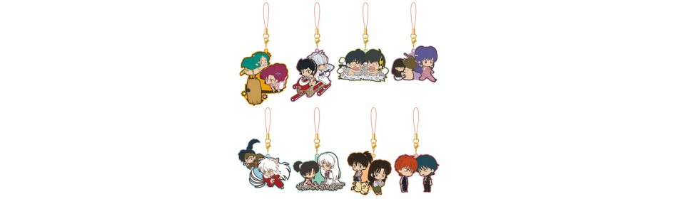 Rumiko Takahashi Rumic Collection Rubber Strap Collection
