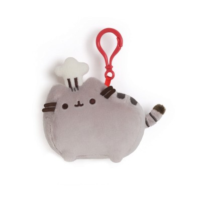 Chef Pusheen Clip 4.5 in