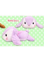 Pote Usa 15'' Lavender Belly Flop Bunny Amuse Prize Plush