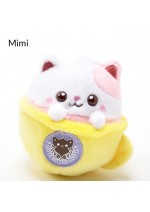 Mimi Latte Kitten Coffee Plush Mascot Keychain
