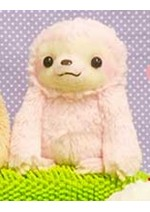 Namakemono no Mikke 6'' Pink Sloth Amuse Prize Plush