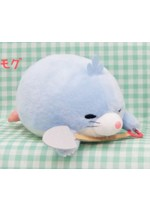 Harinezumi Harin 6'' Blue Naked Hedgehog Amuse Prize Plush