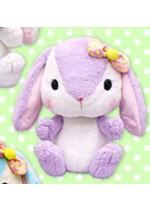 Pote Usa Colorful 15'' Lavender w/ Bow Bunny Amuse Prize Plush