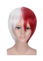 My Hero Academia Shoto Todoroki Themed Wig (Red and White)