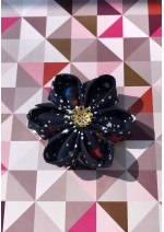 Kanzashi Hair Accessory -  4th of July Theme