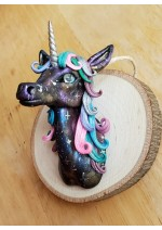 KumoriYori Creations Galaxy Black Unicorn