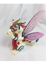 KumoriYori Creations Large White Fairy Dragon