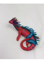 KumoriYori Creations Dark Pink Water Dragon