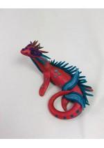 KumoriYori Creations Dark Pink Water Dragon